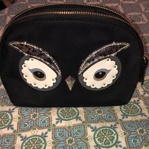 KATE SPADE ♠️ OWL cosmetic case